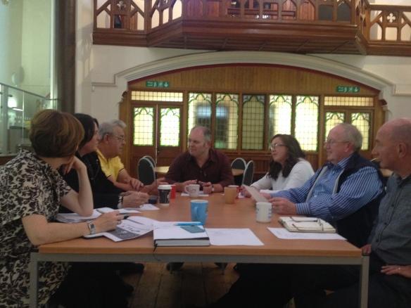 St M Heritage Group talking