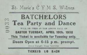 Tea Party Ticket