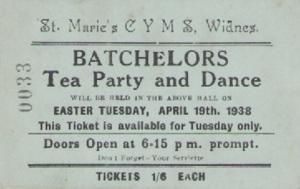 Tea Party Ticket